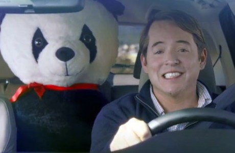 The 54 inch Big plush Panda as seen in this 2012 Super Bowl Commercial