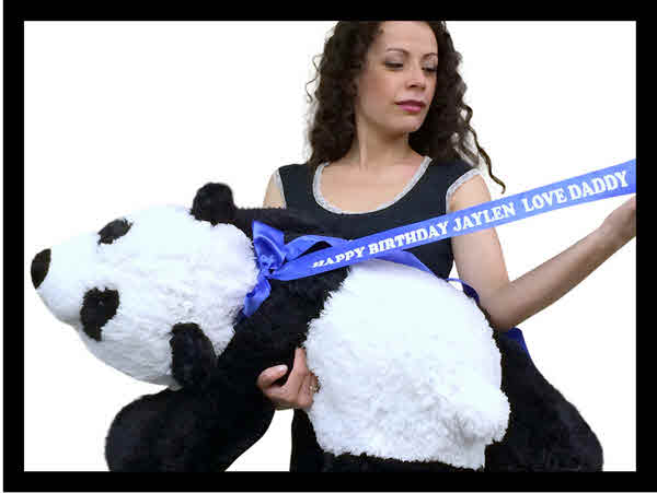 Free Personalized Neck Ribbon For All Products at BigPlush.com