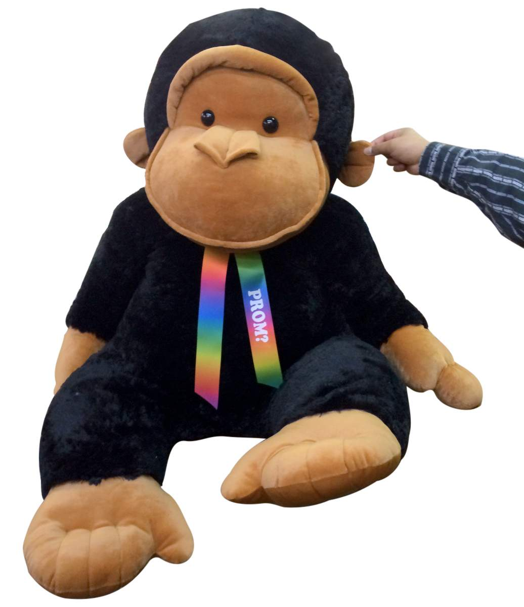 Free personalized neck ribbon for all Big Plush animals
