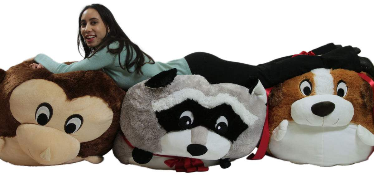 Giant Squishy Plush Animals are New and available here Now